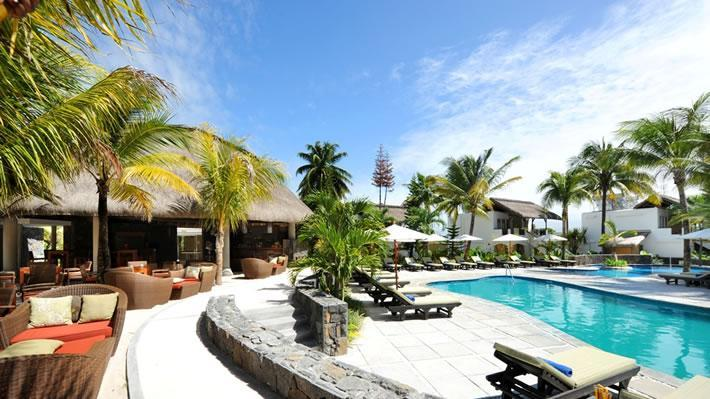 Swimming pool, Emeraude Beach Attitude Hotel, Mauritius